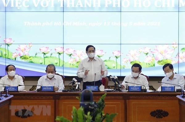 Ciudad Ho Chi Minh debe ser centro socioeconomico del Sudoeste y de todo Vietnam hinh anh 1
