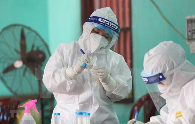 Otros 21 casos confirmados del COVID-19 en Vietnam hinh anh 1
