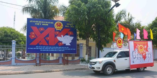 Efectuaran elecciones anticipadas en otras dos provincias vietnamitas hinh anh 1