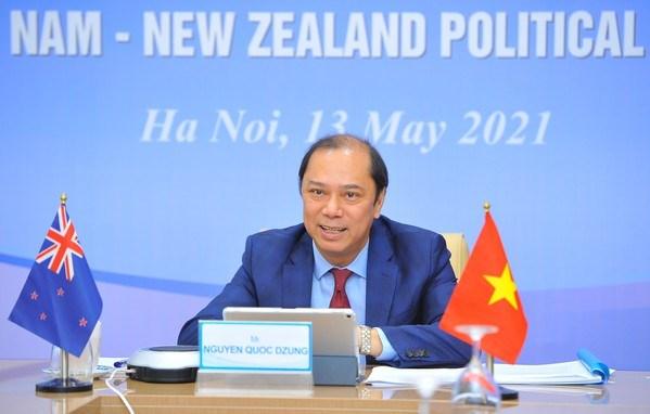 Robustecen nexos estrategicos entre Vietnam y Nueva Zelanda hinh anh 1