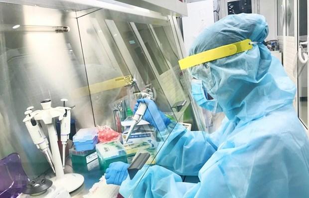 Buscan mejorar capacidad de hacer pruebas del COVID-19 en Vietnam hinh anh 1