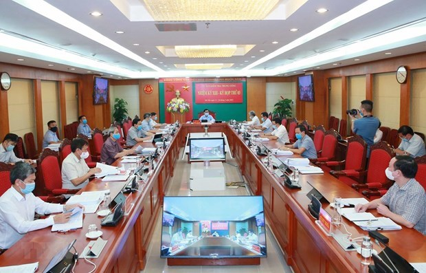Aplican medidas disciplinarias a altos funcionarios del Partido Comunista de Vietnam hinh anh 1