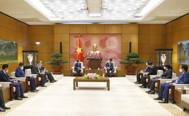 Presidente del Parlamento de Vietnam destaca relaciones de amistad con Camboya hinh anh 2