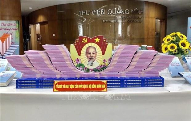 Exhiben en Quang Ninh libros sobre elecciones a la Asamblea Nacional de Vietnam hinh anh 1