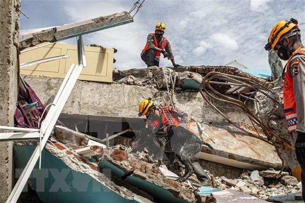 Sismo de magnitud 7,2 sacude la isla indonesia de Sumatra hinh anh 1