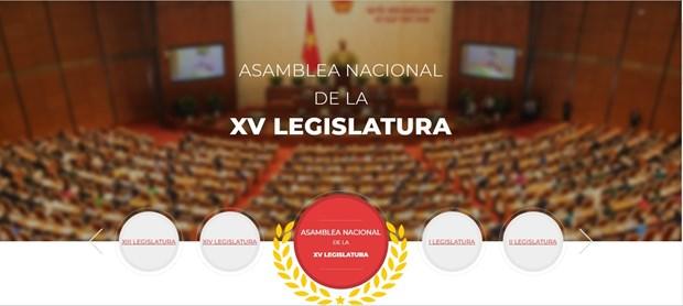 Lanza VNA sitio web especial sobre proximas elecciones hinh anh 1