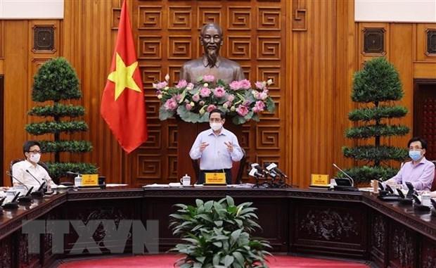 Premier vietnamita exhorta a priorizar la proteccion de la salud de los ciudadanos hinh anh 2