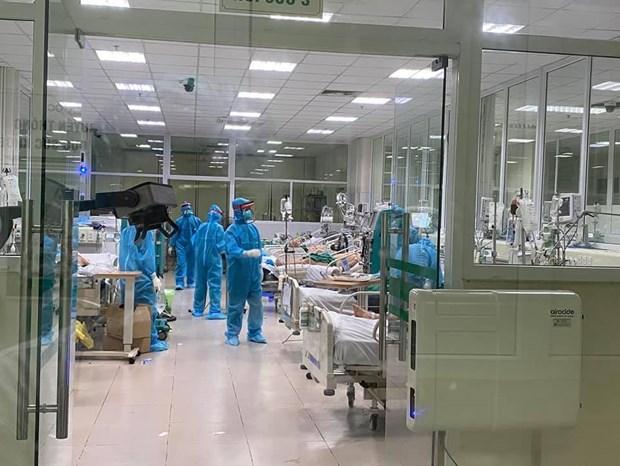 Fallece en Vietnam otra paciente de COVID-19 con enfermedades subyacentes graves hinh anh 1