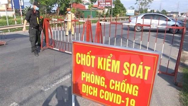 Aplican distanciamiento social en localidad vietnamita de Yen Phong hinh anh 1