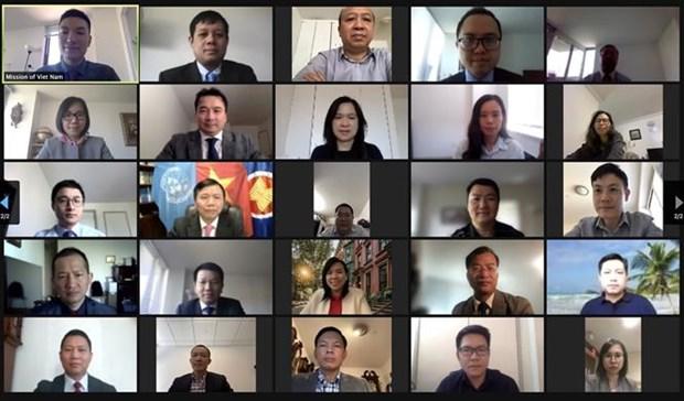 Rememoran en Nueva York a legenda de diplomacia moderna de Vietnam hinh anh 1