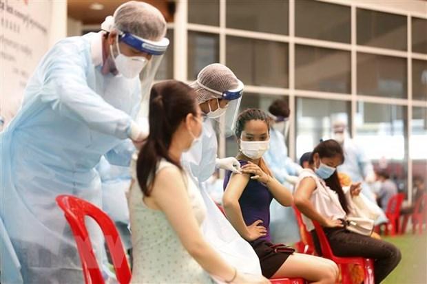 Reducen en Camboya nuevos casos del coronavirus hinh anh 1