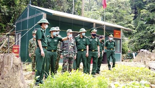 Ejercito de Vietnam impulsa combate antiepidemico frente al COVID-19 hinh anh 1