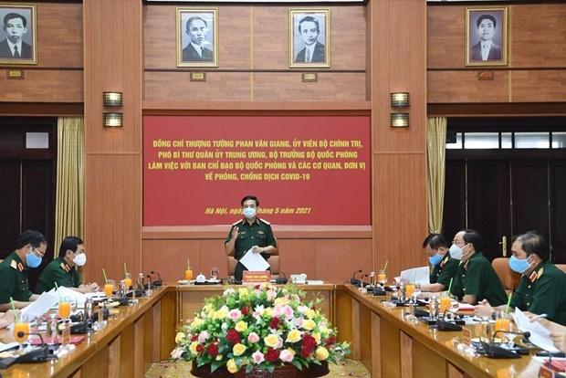 Ejercito de Vietnam impulsa combate antiepidemico frente al COVID-19 hinh anh 2