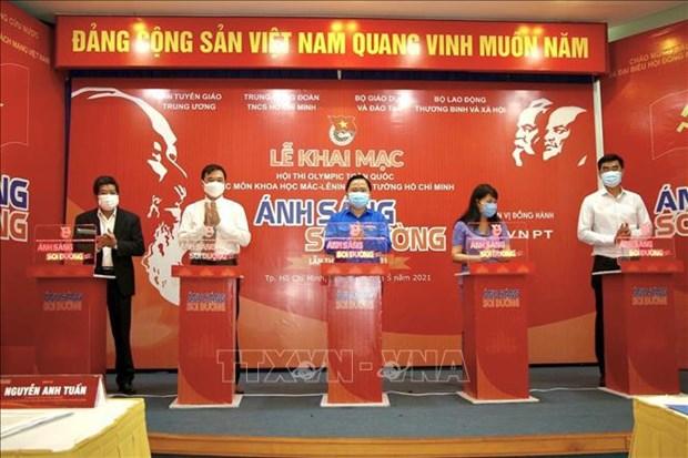 Inauguran en Vietnam concurso sobre el marxismo-leninismo y el pensamiento de Ho Chi Minh hinh anh 2