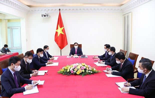 Vietnam y Japon debaten medidas para promover nexos de asociacion estrategica hinh anh 2