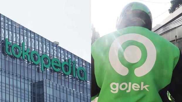 Anuncian fusion de empresas indonesias Gojek y Tokopedia hinh anh 1