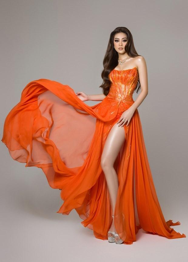 Belleza vietnamita figura en top 21 de Miss Universo 2020 hinh anh 1