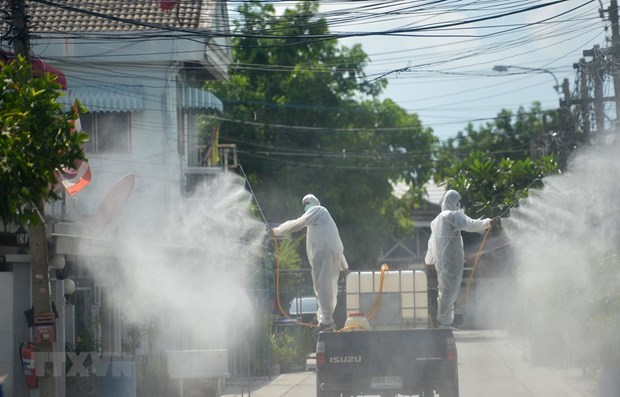 Tailandia registra record de nuevos casos de COVID-19, en su mayoria prisioneros hinh anh 1