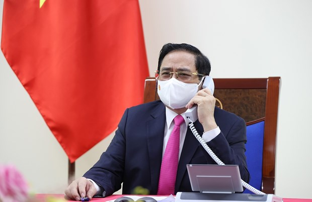 Vietnam y Japon debaten medidas para promover nexos de asociacion estrategica hinh anh 1