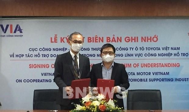 Buscan mejorar la capacidad de empresas en industria auxiliar de Vietnam hinh anh 2