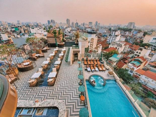 Cuatro hoteles en Hanoi con mejor terraza del mundo, segun TripAdvisor hinh anh 3