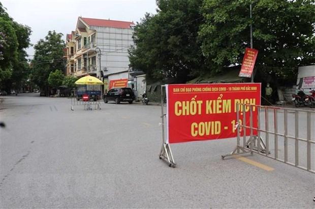 Ciudad de Bac Ninh realiza bloqueo y distanciamiento social temporal hinh anh 1