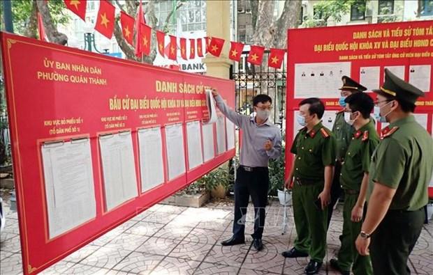 Mas de 69 millones de vietnamitas ejerceran el derecho al voto hinh anh 2