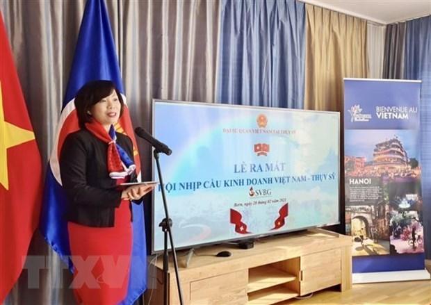 Promueven cooperacion comercial entre Vietnam y Suiza hinh anh 1