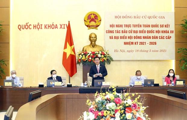 Vietnam decidido a celebrar las elecciones con exito en el plazo fijado hinh anh 1