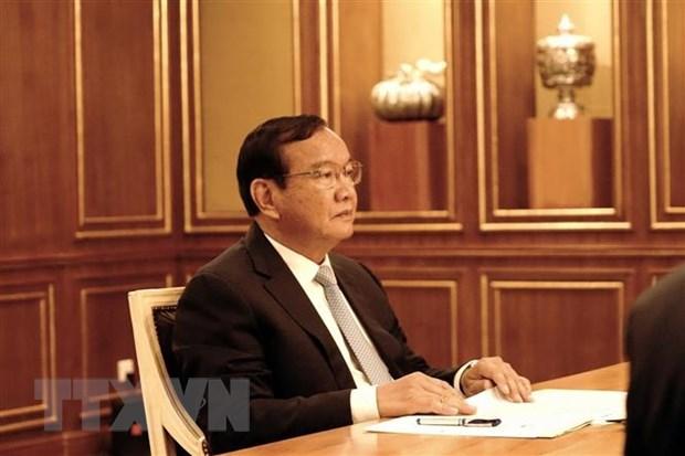 Informan a Camboya resultados de magna cita partidista de Vietnam hinh anh 2