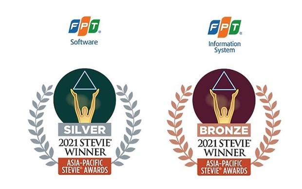 Grupo vietnamita cosecha exitos en Stevie Awards 2021 hinh anh 1