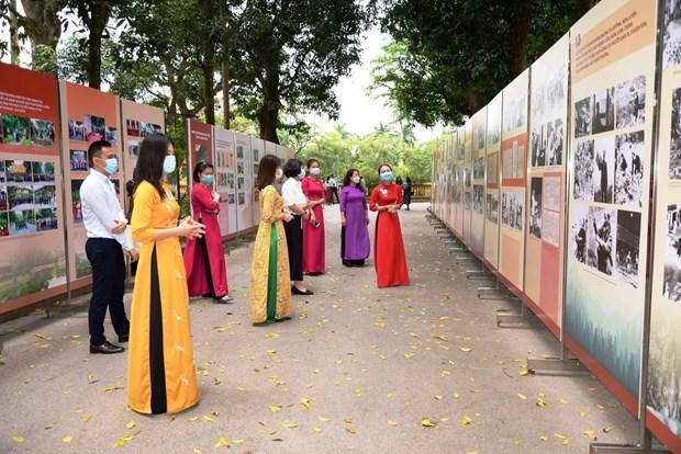 Inauguran exposicion en homenaje a Ho Chi Minh por el aniversario 131 de su natalicio hinh anh 2