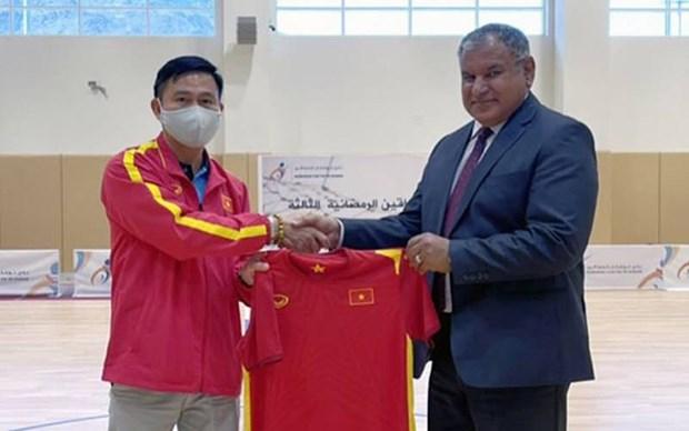 Vietnam obtiene victoria ante Irak en partido amistoso de futsal hinh anh 1