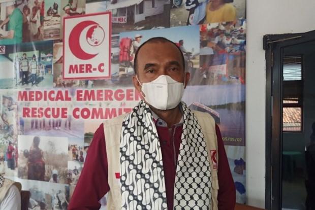 Indonesia envia equipos de cirugia y medicamentos a la Franja de Gaza hinh anh 1