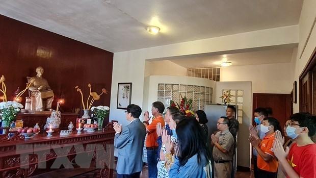 Vietnamitas en ultramar conmemoran natalicio del Presidente Ho Chi Minh hinh anh 1