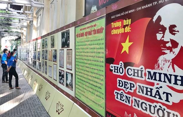 Efectuan exposicion fotografica con motivo del natalicio del Tio Ho hinh anh 2