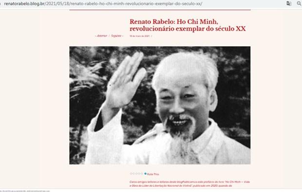 Partido Comunista de Brasil: Ho Chi Minh entre los revolucionarios mas sofisticados del siglo XX hinh anh 1