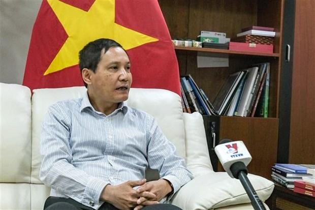 Proteccion ciudadana, primera prioridad de la Embajada de Vietnam en Israel hinh anh 1