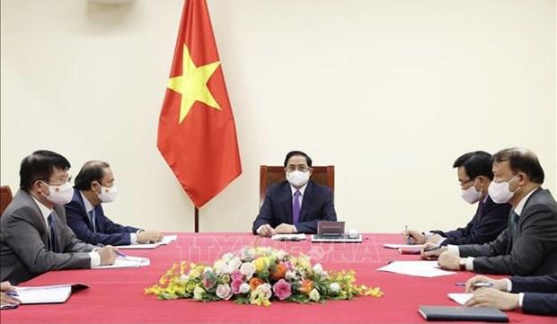 Robustecen Vietnam y Canada cooperacion en respuesta al COVID-19 hinh anh 1