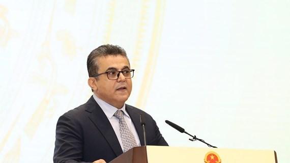 Vietnam tendra un nuevo Parlamento capaz de satisfacer demanda del desarrollo del pais, afirma embajador palestino hinh anh 1