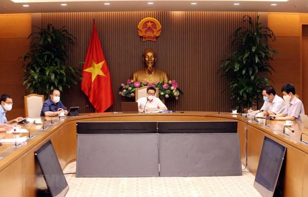 Proponen medidas antiepidemicas en dos mayores focos del COVID-19 en Vietnam hinh anh 1