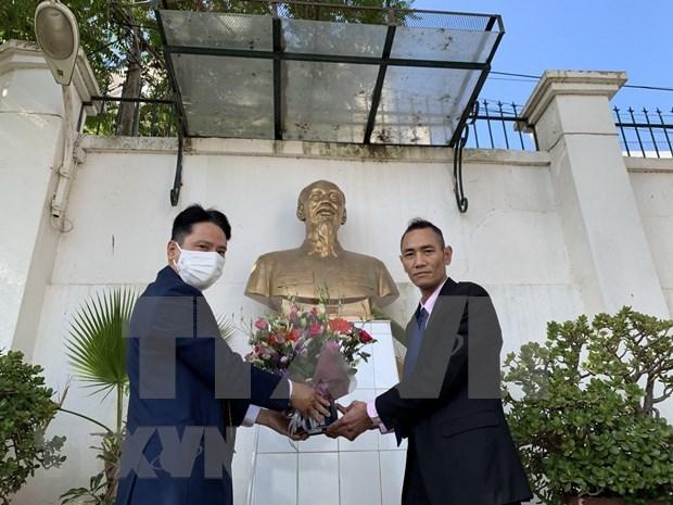 Rinden homenaje al Presidente Ho Chi Minh en Argelia y Mexico hinh anh 1