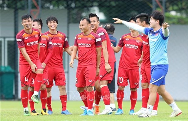 Transmitiran en vivo los partidos de Vietnam en la segunda ronda eliminatoria de la Copa Mundial 2022 hinh anh 1