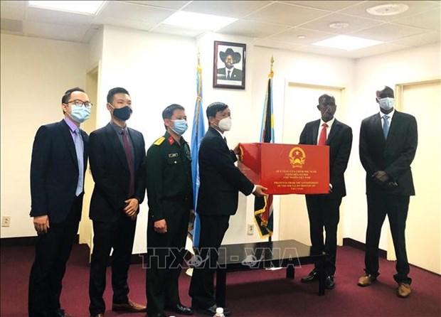Vietnam dona suministros medicos a Sudan del Sur hinh anh 1