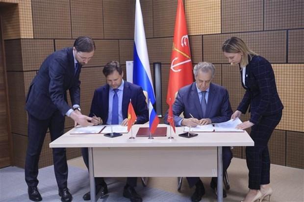 Ciudad Ho Chi Minh y San Petersburgo fortalecen relacion de amistad hinh anh 1