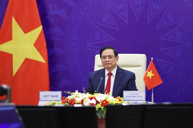 Primer ministro de Vietnam participa en Conferencia internacional sobre el Futuro de Asia hinh anh 1