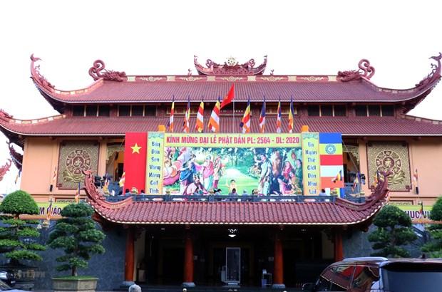 Vicepresidenta de Vietnam felicita a dignatario budista por Dia de Vesak hinh anh 1