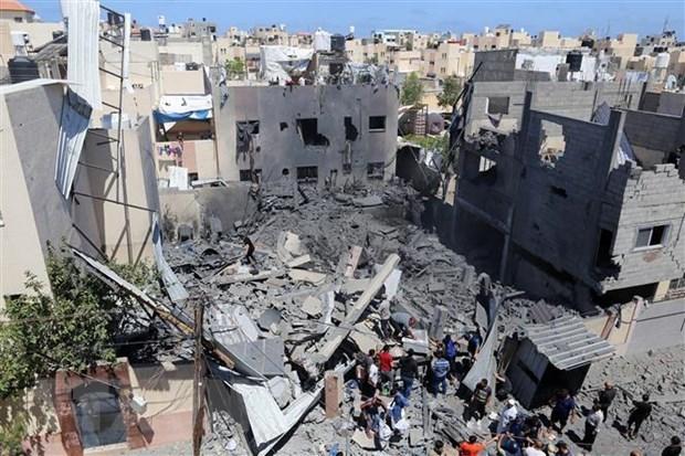 Vietnam valora acuerdo de alto el fuego entre Israel y Hamas hinh anh 1