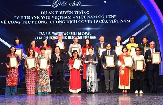 Comunicado sobre el VII Premio Nacional de Informacion al Exterior de Vietnam hinh anh 1