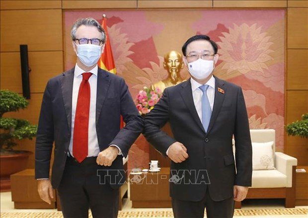 Vietnam reclama apoyo de UE en acceso a vacunas contra COVID-19 hinh anh 2